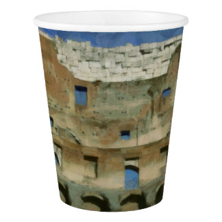 Colosseum painting, Rome Paper Cup