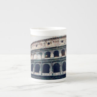 Colosseum painting, Rome Tea Cup