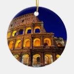 Colosseum Roma Adorno De Navidad