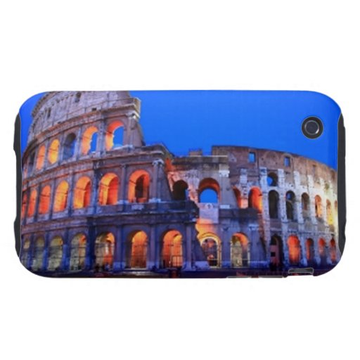 Colosseum Roma Carcasa Though Para iPhone 3