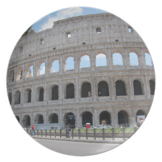 ¡Colosseum Roma encendido! Platos De Comidas