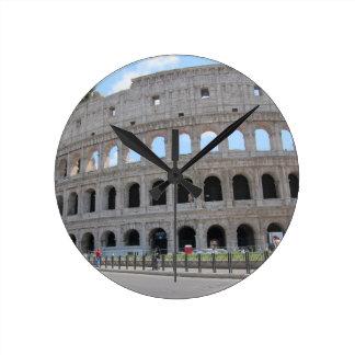 ¡Colosseum Roma encendido! Reloj Redondo Mediano