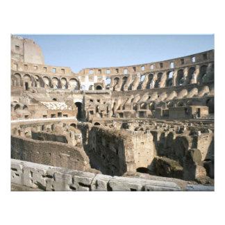 "Colosseum, Roma Folleto 8.5"" X 11"""