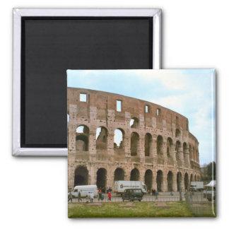 Colosseum, Roma Imán Cuadrado
