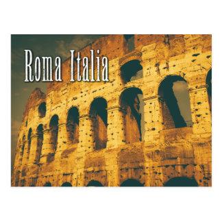 colosseum Roma Italia del vintage Postales