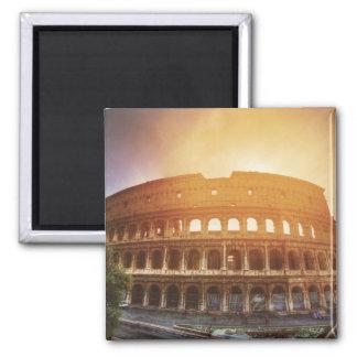 Colosseum, Roma, Italia Imán Cuadrado