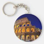 Colosseum Roma Llavero Redondo Tipo Pin