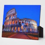 Colosseum Roma Placas De Plastico