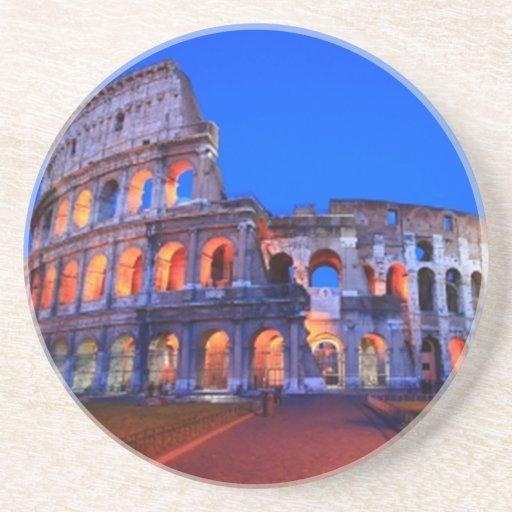Colosseum Roma Posavasos Personalizados