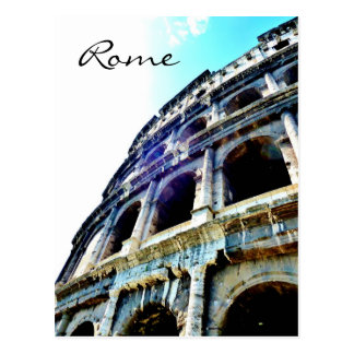 Colosseum, Roma, postal