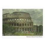 Colosseum, Roma Postal
