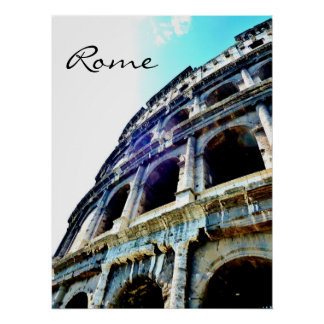 Colosseum, Roma, poster