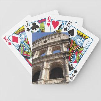 Colosseum romano baraja cartas de poker