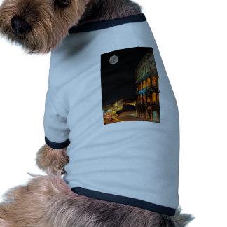 Colosseum romano en Roma Camiseta De Perro