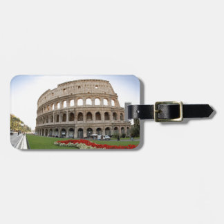 Colosseum romano etiqueta para equipaje