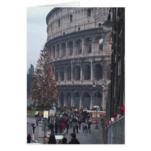 Colosseum romano felicitación