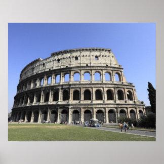 Colosseum romano Lazio, Italia Poster