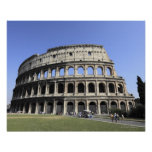 Colosseum romano Lazio, Italia Póster