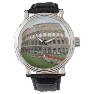 Colosseum romano reloj de mano