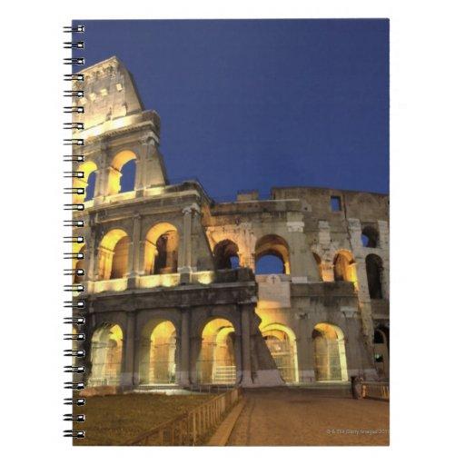 Colosseum romano, Roma, Italia 2 Libro De Apuntes