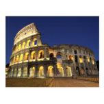 Colosseum romano, Roma, Italia 2 Postal