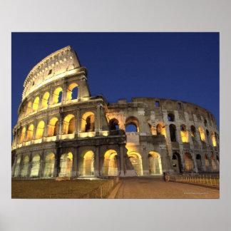 Colosseum romano, Roma, Italia 2 Póster