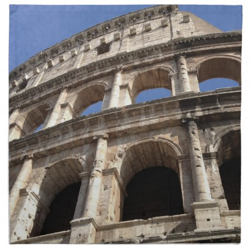 Colosseum romano servilletas
