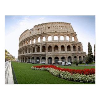 Colosseum romano tarjeta postal