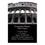 Colosseum romano tarjetas de negocios