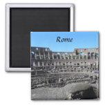 Colosseum- Rome 2 Inch Square Magnet