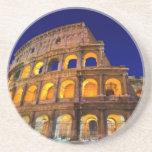 Colosseum Rome Beverage Coasters