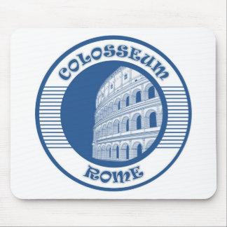 COLOSSEUM ROME BLUE MOUSE PAD