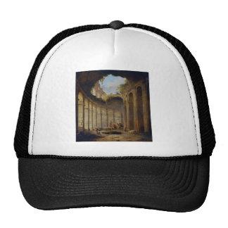 Colosseum, Rome by Hubert Robert Trucker Hat