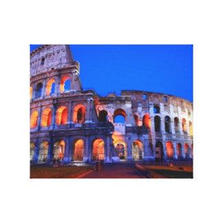 Colosseum Rome Canvas Prints