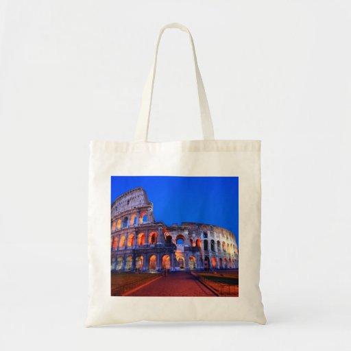 Colosseum Rome Canvas Bags