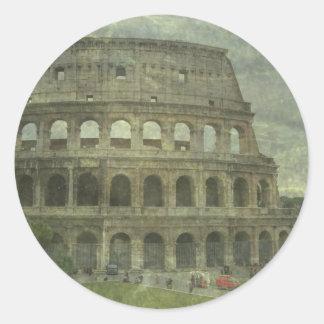 Colosseum, Rome Classic Round Sticker