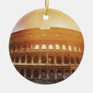 Colosseum, Rome, Italy Ceramic Ornament