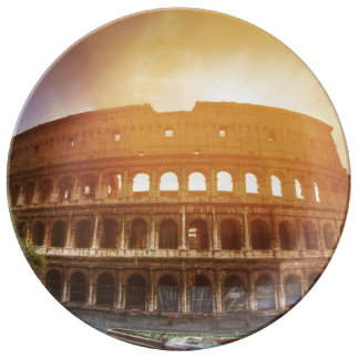 Colosseum, Rome, Italy Dinner Plate