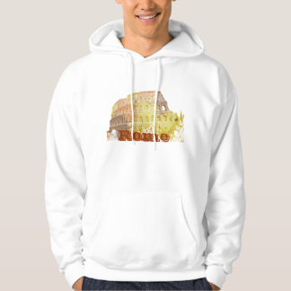 Colosseum Rome Italy Hooded Sweatshirts