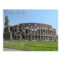 Colosseum. Rome, Italy Postcard