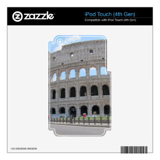 Colosseum Rome On! Decals For iPod Touch 4G