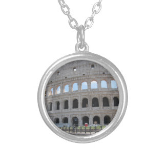 Colosseum Rome On! Round Pendant Necklace