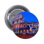 Colosseum Rome Pinback Buttons