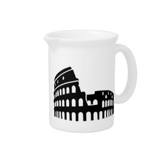 Colosseum Rome Drink Pitcher