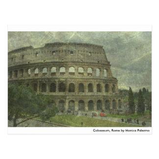 Colosseum, Rome Post Card