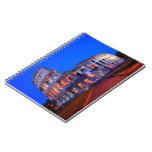 Colosseum Rome Spiral Note Books