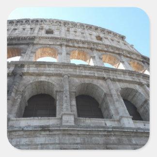 Colosseum- Rome Square Sticker