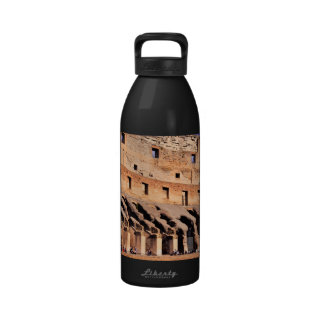 Colosseum ruins water bottles