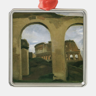 Colosseum Seen through the Arcades, Rome, Italy Christmas Tree Ornament