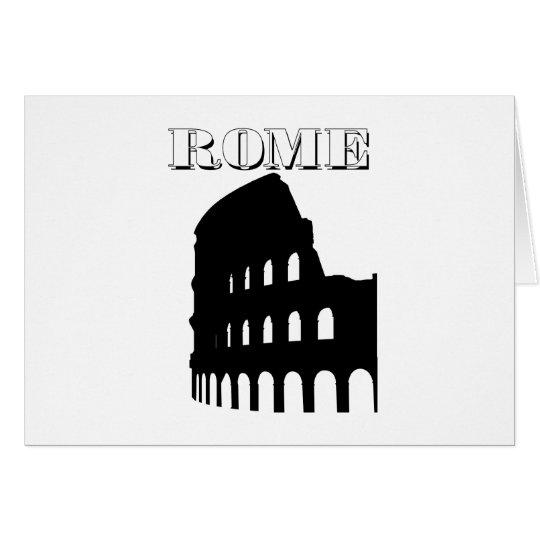 Colosseum Tarjeta De Felicitación